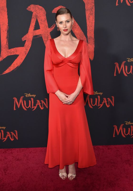 "Alyson Aly Michalka – ""Mulan"" Premiere in Hollywood"