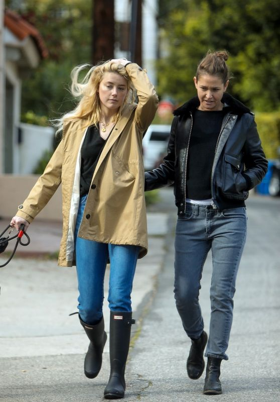 Amber Heard With Girlfriend Bianca Butti - Out in LA 03/20/2020
