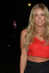 Amber Turner, Chloe Meadows and Courtney Green Night Out - Cicconis Restaurant in London 03/14/2020