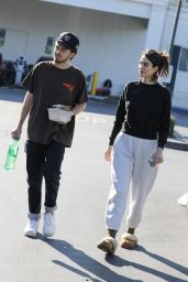 Amelia Gray Hamlin and Mercer Wiederhorn - Out in West Hollywood 02/29/2020
