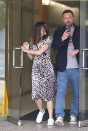 Ana De Armas and Ben Afflec - Out in Los Angeles 03/20/2020