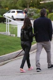 Ana De Armas and Ben Affleck - Out in Brentwood 03/23/2020