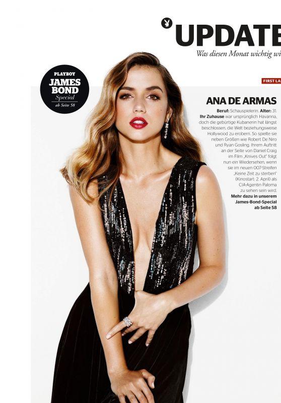 Ana de Armas - German Magazine April 2020