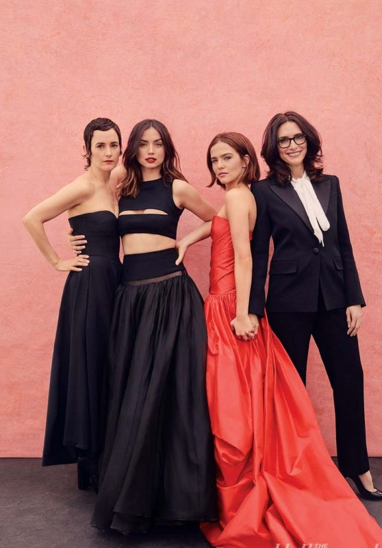 Ana de Armas Karla Welch, Elizabeth Stewart and Zoey Deutch - The Hollywood Reporter Power Stylists 03/11/2020 Issue