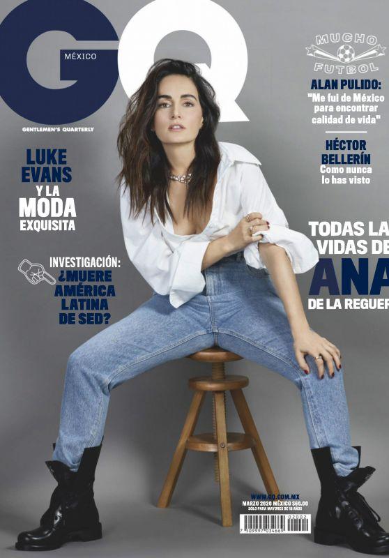 Ana de la Reguera - GQ Mexico March 2020 Issue