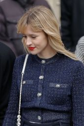 Angele – Chanel Show at Paris Fashion Week 03/03/2020