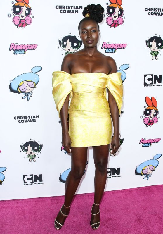 Anna Diop – 2020 Christian Cowan x Powerpuff Girls Runway Show in Hollywood
