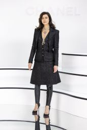 Anna Mouglalis – Chanel Show at Paris Fashion Week 03/03/2020