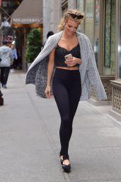 AnnaLynne McCord in Spandex - Tribeca NYC 03/10/2020