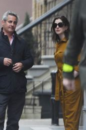 Anne Hathaway - Out in NYC 03/10/2020