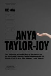Anya Taylor-Joy – L'Officiel Magazine Italy N°32 February 2020 Issue