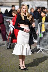 Anya Taylor-Joy - Miu-Miu Show at Paris Fashion Week 03/03/2020