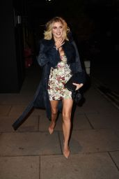 Ashley James - Outside the Fekkai Masterclass and Cocktail Party