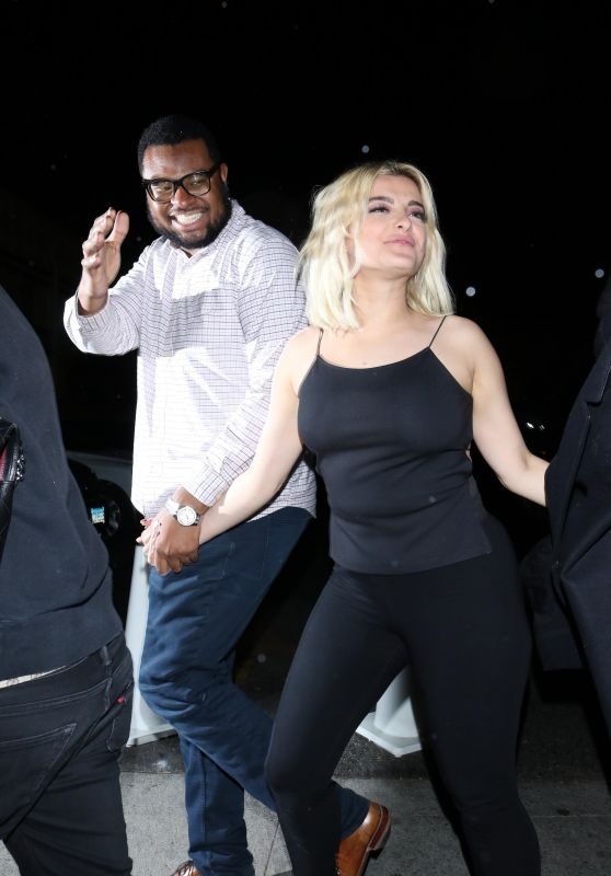 Bebe Rexha Night Out - Delilah Nightclub in West Hollywood 03/07/2020