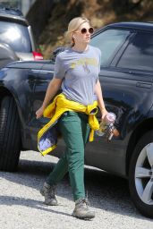 Beth Behrs in Casual Outfit - Hollywood Hills 03/28/2020