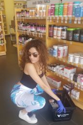 Blanca Blanco With Latex Gloves - Shopping at the Pharmacy 03/26/2020