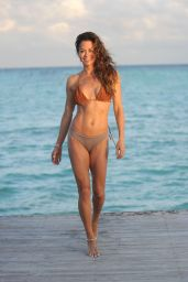 Brooke Burke in a Bikini - Cap Cana February 2020