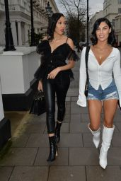 Cally Jane Beech - Arriving at the Hangout Event in London 03/15/2020