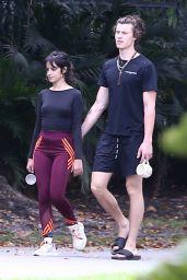 Camila Cabello and Shawn Mendes - Morning Walk in Miami 03/26/2020