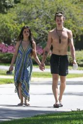 Camila Cabello and Shawn Mendes - Out in LA 03/21/2020