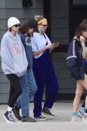 Cara Delevingne, Ashley Benson and Kaia Gerber - Out in Los Angeles 03/17/2020