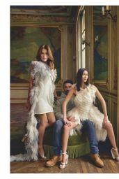 Carla Bruni and Bella Hadid - ELLE France 02/28/2020 Photos