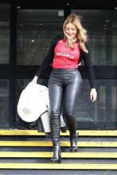 Carol Vorderman - Arriving at the BBC Studios in Llandaff, Cardiff 03/07/2020