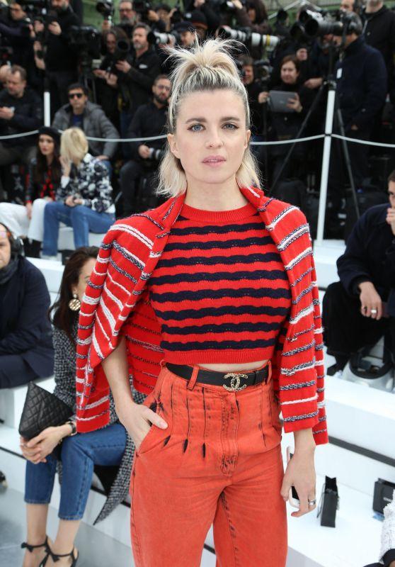 Cecile Cassel - Chanel Show at Paris Fashion Week 03/03/2020