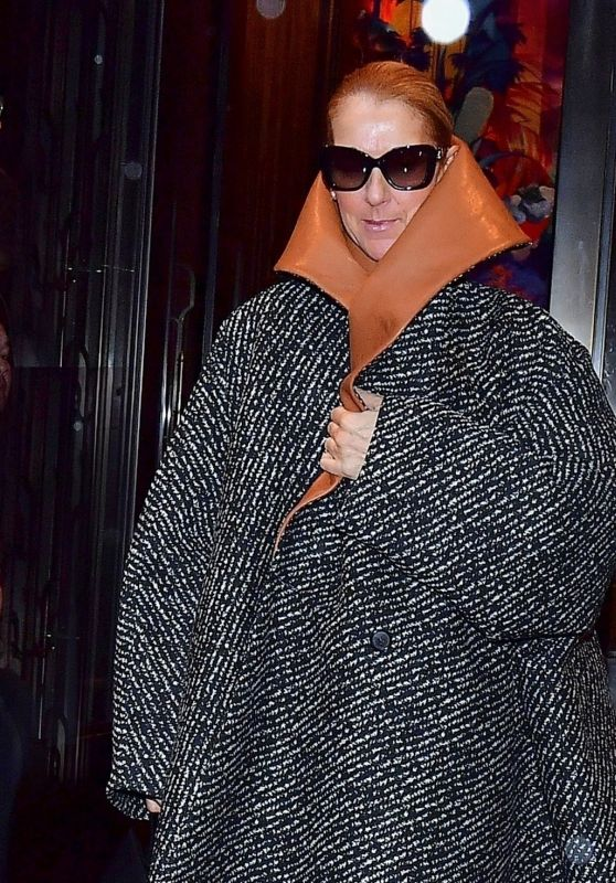 Céline Dion - Leaving her Hotel in New York City 03/06/2020
