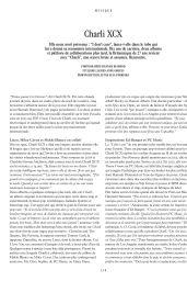 Charli XCX – L'Officiel Paris March 2020 Issue
