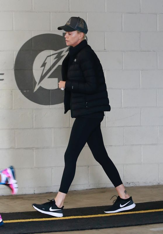 Charlize Theron - Out in Beverly Hills 03/18/2020