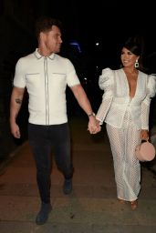 Charlotte Dawson and Matt Sarsfield - Avenue Nightclub Launch Party in Liverpool