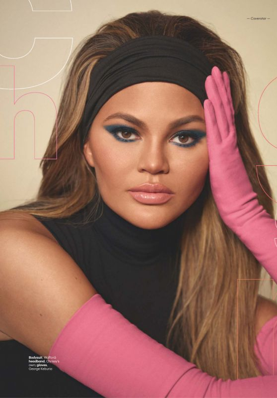 Chrissy Teigen - Glamour Magazine UK March 2020 Issue