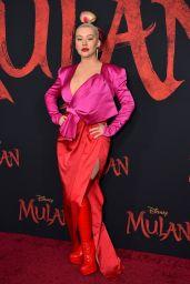 "Christina Aguilera - ""Mulan"" Premiere in Hollywood"