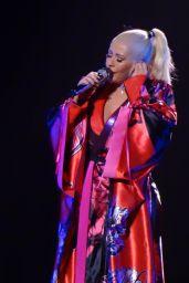 Christina Aguilera - Performs in Las Vegas 02/29/2020