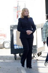 "Christina Hendricks - ""Good Girls"" Set in Los Angeles 03/03/2020"
