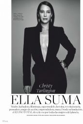 Christy Turlington - Elle Espana April 2020 Issue