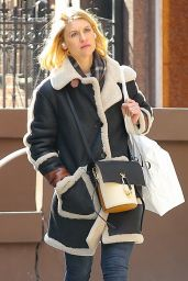 Claire Danes - Shopping in New York 03/02/2020
