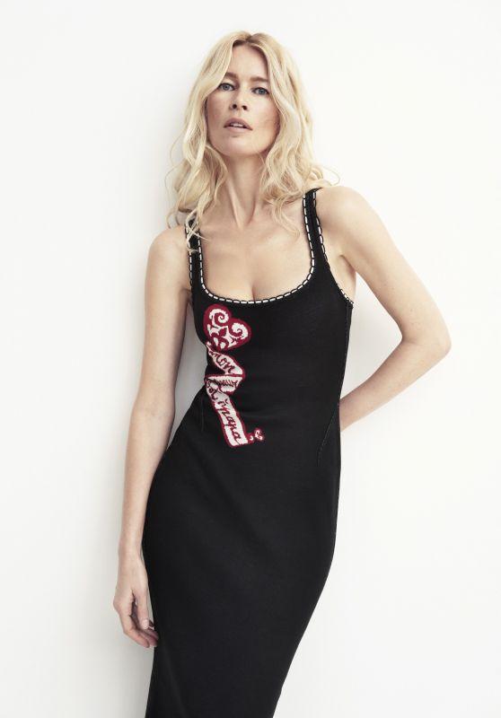 Claudia Schiffer - ELLE Magazine UK May 2020