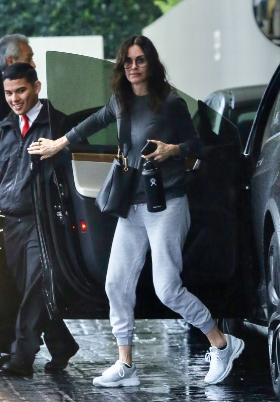 Courteney Cox and Johnny McDaid - Out in Beverly Hills 03/12/2020