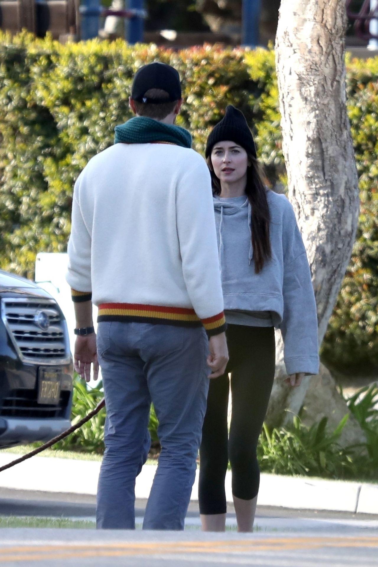 Dakota Johnson and Chris Martin - Out in Malibu 03/29/2020