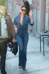 Eiza González - Arriving at Jimmy Kimmel Live Studio in LA 03/11/2020