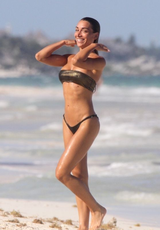 Elena Gusmeroli in a Bikini - Beach in Tulum 03/26/2020