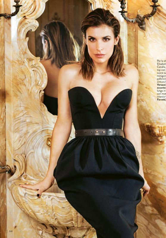 Elisabetta Canalis - Grazia Magazine Italy 03/05/2020 Issue