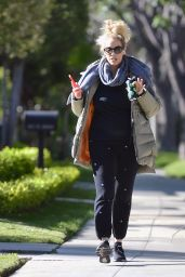 Elizabeth Berkley - Out in Beverly Hills 03/25/2020
