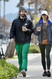 Elizabeth Olsen Street Style - Out in LA 03/21/2020