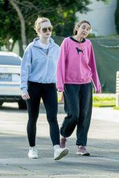 Elle Fanning - Out in LA 03/18/2020