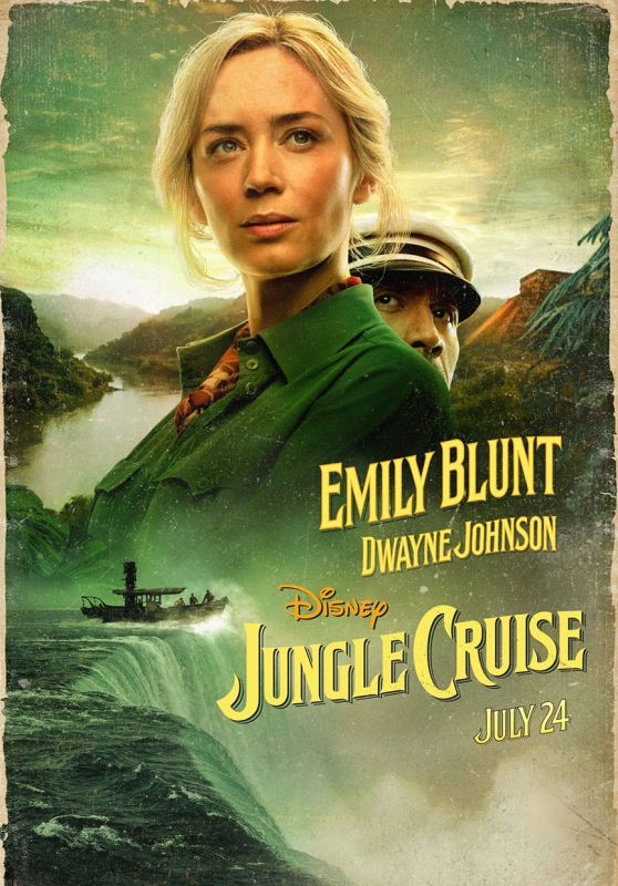 "Emily Blunt - ""Jungle Cruise"" Posterst and Photos"