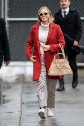 Emily Blunt - Outside Jimmy Kimmel Live in Los Angeles 03/10/2020