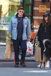 Emily Ratajkowski and Sebastian Bear-McClard - Shopping in Soho 03/15/2020